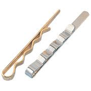 AT-31 Krawattenschieber  erhältlich in: silberfarben, goldfarben