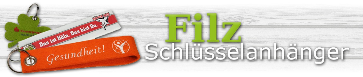 Pins-and-More Header Slider Top Filz Schlüsselanhänger